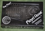 Floyd Rose Original Tremolo kit, black.