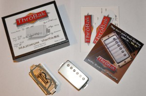 Throbak PG-102 MXV set (2 шт), aged nickel. ― Guitar-Supply.ru