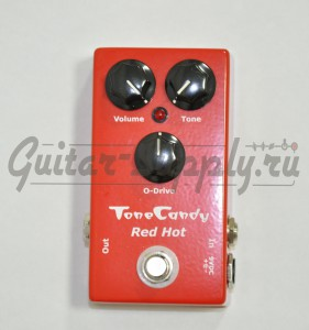 ToneCandy Red Hot Overdrive and Distortion ― Guitar-Supply.ru