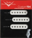 Fender Custom Shop '54 Strat set.