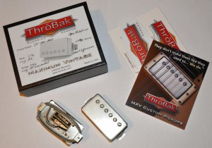 Throbak DT-102 MXV set (2 шт), aged nickel. ― Guitar-Supply.ru