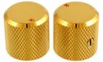 AllParts gold knobs